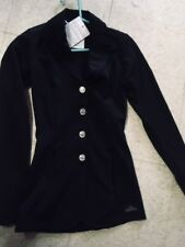 Grand Prix Hunt/ Dressage Coat *Girls Medium* Black Tech Lite Rylie New