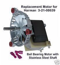 HARMAN PELLET STOVE EXHAUST- COMBUSTION BLOWER MOTOR  [PP7613]  -    3-21-08639