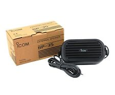 NEW ICOM SP-35 5W Ext Speaker w/3.5mm for IC-2820H IC-F7000 IC-F8100 IC-F9510