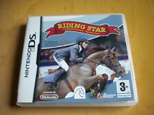 RIDING STAR COMPETITION EQUESTRE JEU DS / DS LITE / DSI / DSI XL / 2 DS