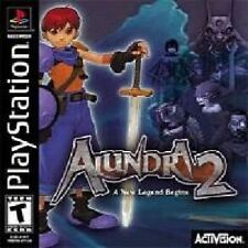 ALUNDRA 2 *RARE COLLECTORS ITEM* PLAYSTATION/PS2 GAME *NEW/SEALED* AUS EXPRESS