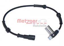 Sensor, Raddrehzahl für Bremsanlage Vorderachse METZGER 0900280