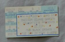 Zz Top & The Black Crowes Concert Ticket Stub 1/29/91 Madison Square Garden 1991
