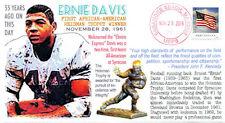 COVERSCAPE computer designed 55th anniversary Ernie Davis Heisman event cover