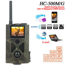 HC-500M HD Animal Hunting Digital Trail Camera 16MP GPRS GSM SMS Infrared Scout