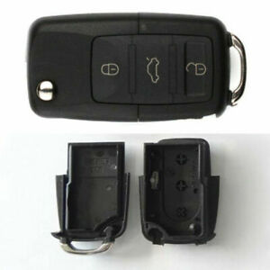3-Button Car Key Shell Box Car Compartment Durable Practical 1 Set Gift Safe