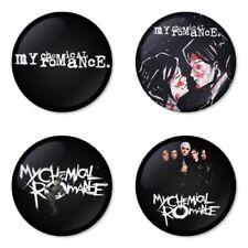 My Chemical Romance, B - 4 chapas, pin, badge, button