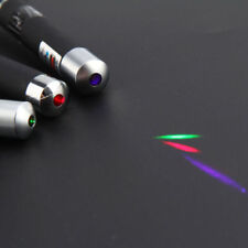 3 x Laser Pen Beam Light Green + Purple + Red Lazer Light Pointer 3 Pieces