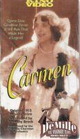 CARMEN VHS GERALDINE NEW Sealed FARRAR WALLACE REID 1915 KINO Video