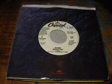 "QUEEN breakthru ( rock ) 7"" / 45 PROMO"