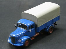 Minichamps Mercedes-Benz L3500 Canvas Truck 1:43 Blau (JS)