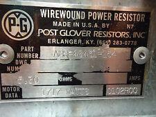 New Post Glover Wirewound Resistor Abb-48431-154 5.30Ω 1717W