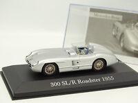 Ixo Presse 1/43 - Mercedes 300 SLR Roadster 1955