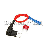 Car Add-a-circuit Fuse TAP Adapter Mini ATM APM Auto Blade Fuse Holder 10A 12V