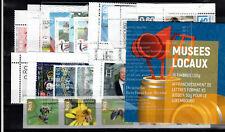Unter Postpreis! Luxemburg-Neuheiten 2020, nur kpl. Ausgaben