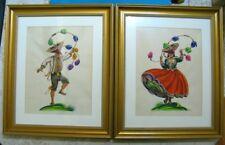 American Artist ADA PEACOCK ORIGINAL Watercolor Signed Peru