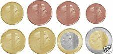 manueduc  HOLANDA 2016  Las  8  monedas  NUEVO DISEÑO  REY GUILLERMO UNC