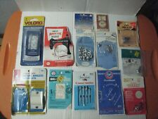 Vintage Lot Sewing Items; Needles(some from England); Snaps; Eyelets; Hook & Eye
