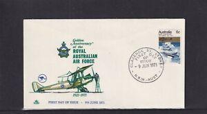 Australia 1971 Royal 50th Anniversary of Royal Australian Air Force FDC