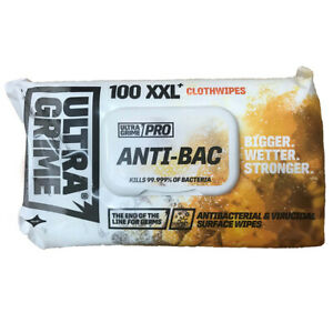 x6 Packs Uniwipe Ultragrime Industrial Anti Bac Cleaning Wipes Hand Wipes X100