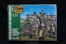 XP002 REVELL 1/72 maquette figurine 2501 Infanterie australienne WWII