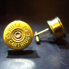 Shotgun Shell Cartridge Pac GEMELLI argilla e GAME SHOOTING Steampunk COMPLEANNO