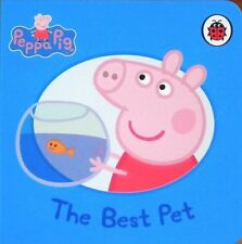Peppa Pig Story Book - THE BEST PET - Board Book - NEW