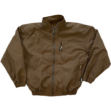 Remington Outdoor Clothing Rip-Stop Jacket Men's Size Large 42-44 Brown