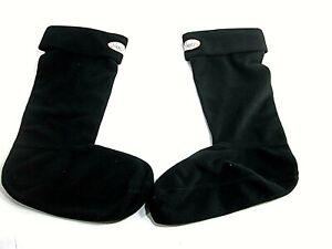 Jileon Women's Black Fleece Warm Boot Liners Socks New