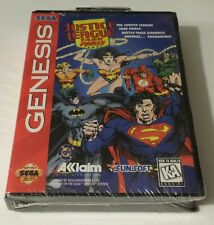 BRAND NEW SEALED SEGA -- Justice League Task Force (Sega Genesis, 1995)