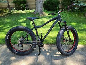 Fat Bike, Motobecane Boris Bluto 17.5 Medium Frame Bicycle