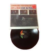 Jan & Dean - Command Performance/Live In Person. LRP-3403 MONO Monarch Press VG+