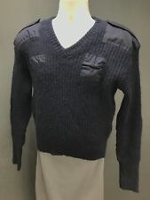 Blauer Men's Genuine Commando Navy Pure New Wool Military Sweater Size L Large