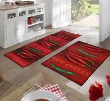 Fußmatte Hot Chilli Wash+Dry Teppichläufer Küchenläufer - verschiedene Größen