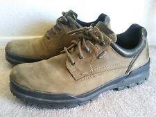 Ecco Men's sz 43 brown goretex waterproof track made in PORTUGAL