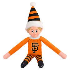 San Francisco Giants Plush Christmas Elf - MLB Doll On The Shelf Stuffed Toy