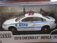 GreenLight 2010 Chevy Impala NYPD NYC Police Blue Bloods 1:43 O Scale
