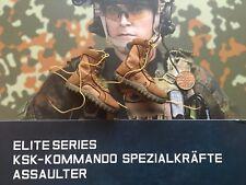 DamToys Deutsche KSK Assaulter Hellbraun Rockys 2V Stiefel lose Maßstab 1/6th