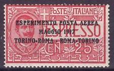 1917 REGNO D' ITALIA P.AEREA NR.1 BEN CENTRATO NUOVO MNH**