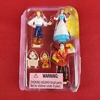 New Disney Beauty and Beast Princess Belle Castle Polly Pocket Style Figures