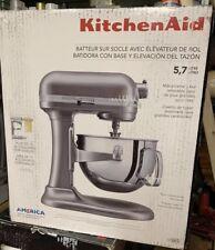 New! KitchenAid KL26M1XSL Professional 6-Qt. Bowl-Lift Stand Mixer - Silver.