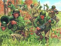 Italeri 1:72 - 6046, Amerikanische Infanterie WWII, the big red one, 50 Figuren,