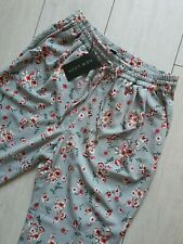 NEW LOOK FLORAL WOVEN JOGGER TROUSERS SIZE 10 BNWT