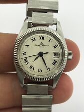 VINTAGE BAUME MERCIER GENEVE 1215 AUTOMATIC BM 751 LADY 25.5mm S/S SWISS MADE