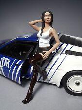 1/18  FIGURE  GIRL  NATALIA  VROOM  NOT PAINTED  FOR  AUTOART  MINICHAMPS  SPARK