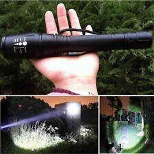 12000 Lumens 5 Modes XM-L T6 LED 18650 Powerful Torch Police Flashlight Lamp
