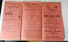 More details for bromley v dulwich hamlet f.a. amateur cup 1st rnd. programme 13th january 1951.