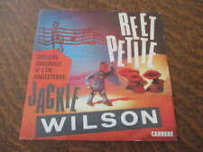 45 tours JACKIE WILSON reet petite (the sweetest girl in town)