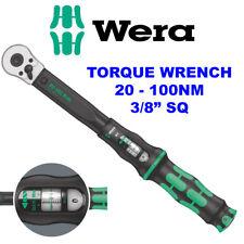 """Wera 3/8"""" haga clic-Par De Torsión-B-2 calibrado llave ajustable de 20 µ a 100 µ, 075611"""