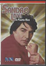 rare Balada 60's 70s 80's DVD SANDRO EN VIVO EN PUERTO RICO Palacio Bellas Artes